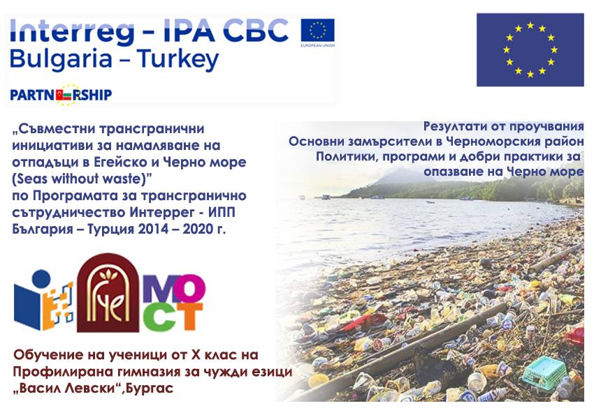 Политики, програми и добри практики за опазване на Черно море